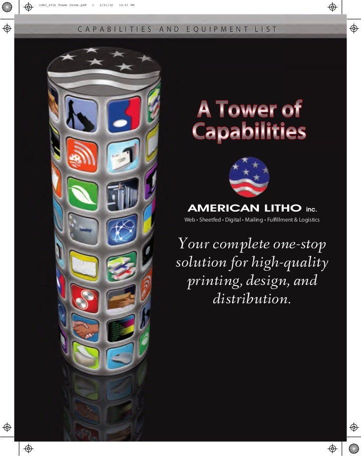 r24C_2012 Tower Cover.pdf   1   2/21/12   12:01 PM                    CAPABILITIES AND EQUIPMENT LIST                     ...