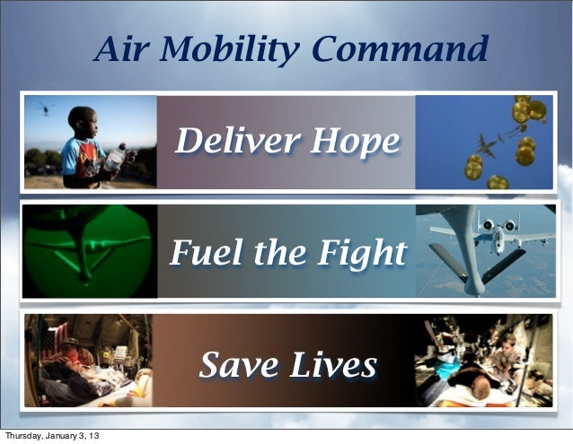 Overview: Air Mobility Command, USAF (2012)