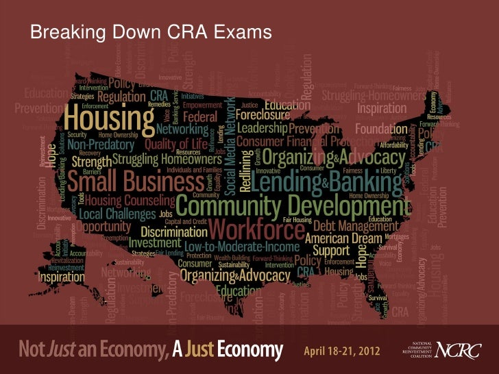Breaking Down CRA Exams
