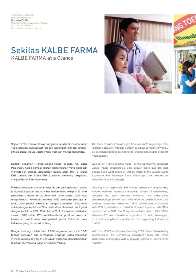 Kalbe at a Glance