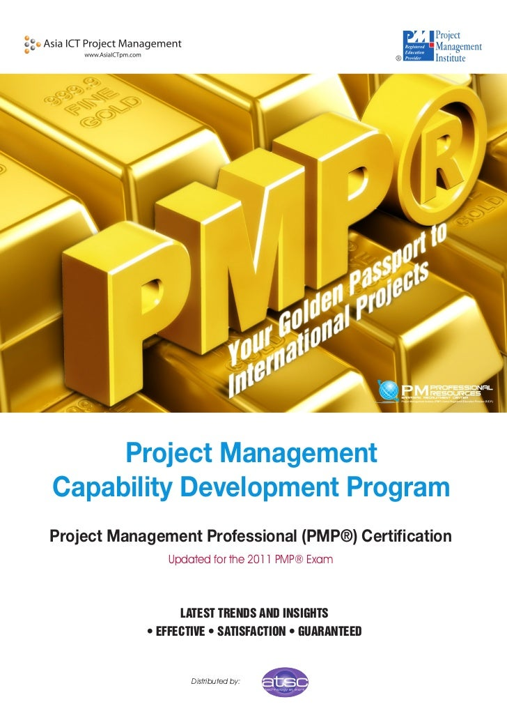Project ManagementCapability Development ProgramProject Management Professional (PMP®) Certification               Updated...