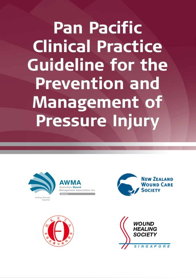 Pan Pacific Clinical Practice Guideline for the Prevention and Management of Pressure Injury S I N G A P O R E WOUND HEALI...