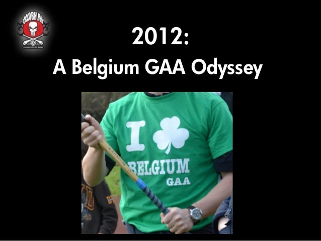 2012:A Belgium GAA Odyssey