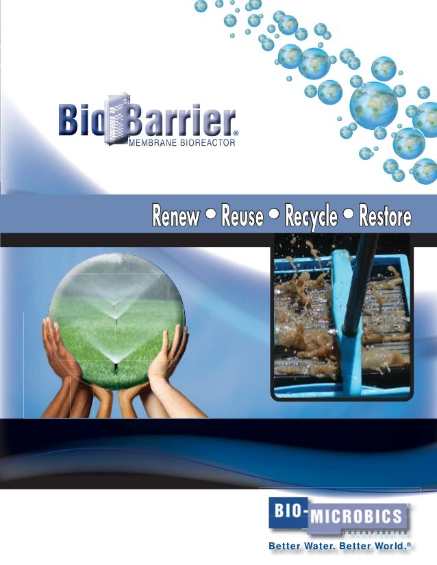 Why can't wastewater treatment be simple?  Residential Small Systems Our advanced BioBarrier® Membrane BioReactor (MBR) de...