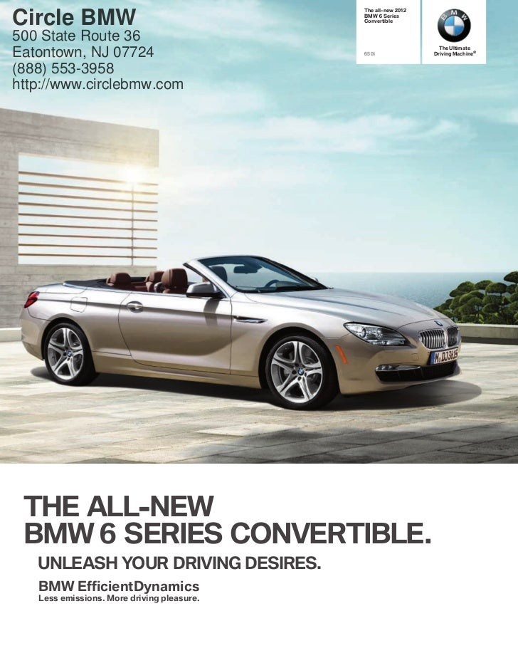 2012 BMW 6 Series Convertible For Sale NJ | BMW Dealer In Eatontown