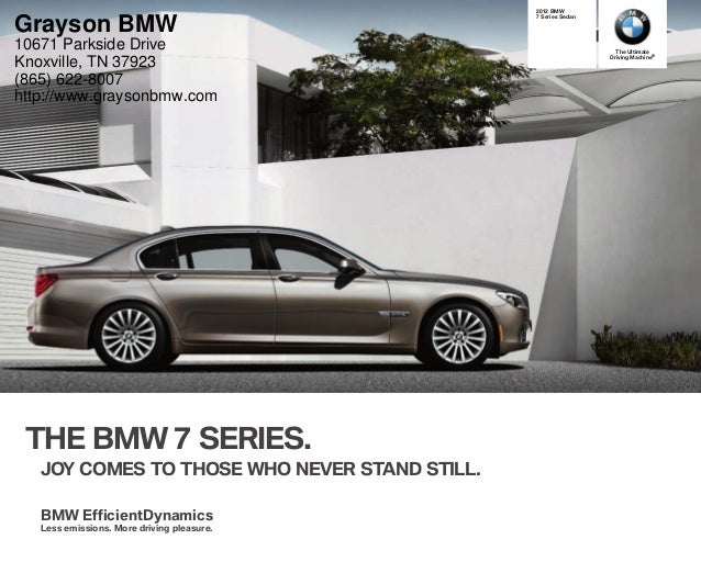 The Ultimate Driving Machine® THE BMW  SERIES. JOY COMES TO THOSE WHO NEVER STAND STILL.     BMW  Series Sedan BMW E...