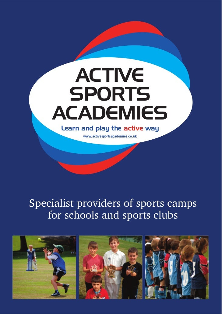 ACTIVE     SPORTS    ACADEMIES      Learn and play the active way            www.activesportsacademies.co.ukSpecialist pro...