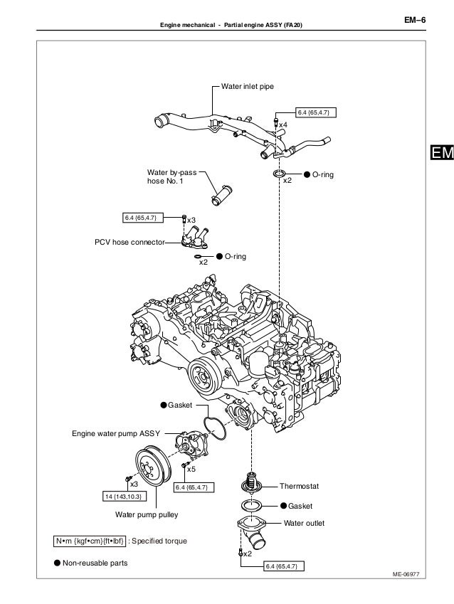 2012 Brz Engine Service Manual