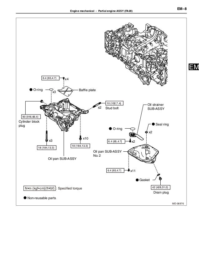 2012 brz engine service manual 2013 FR-S Engine