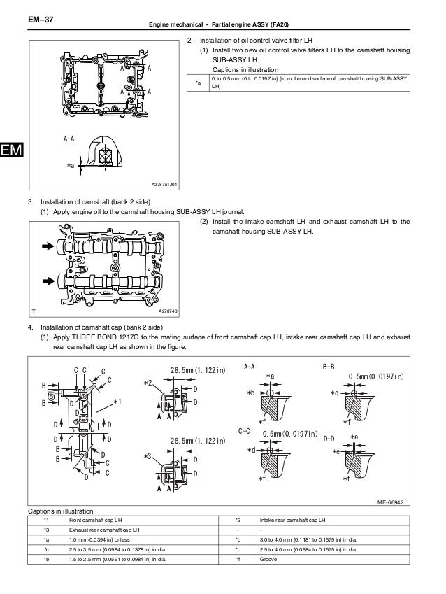 Pleasing 2012 Brz Engine Service Manual Wiring Digital Resources Sapebecompassionincorg