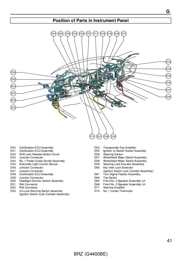 2012 brz wiring service manual 41
