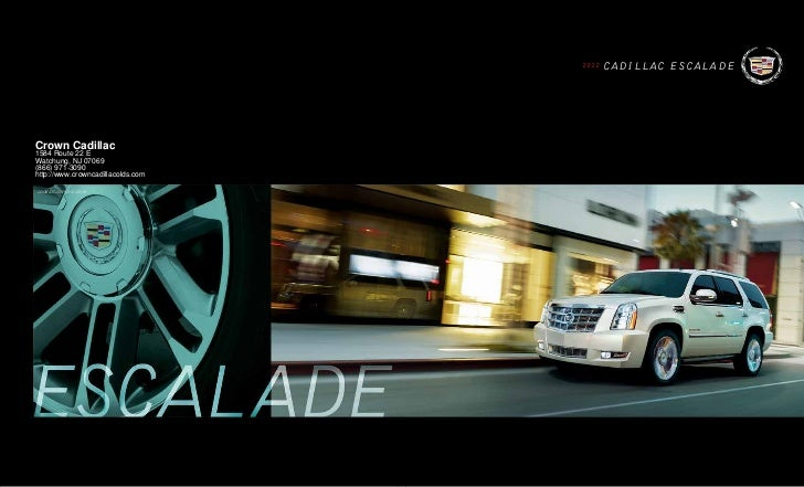 Cadillac Escalade For Sale NJ Cadillac Dealer New Jersey - Cadillac dealer in nj