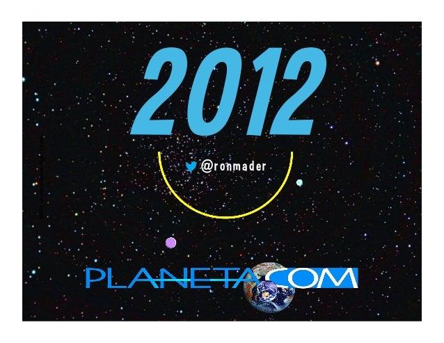 NASA Goddard Space Flight Center                 @ronmader                      2012