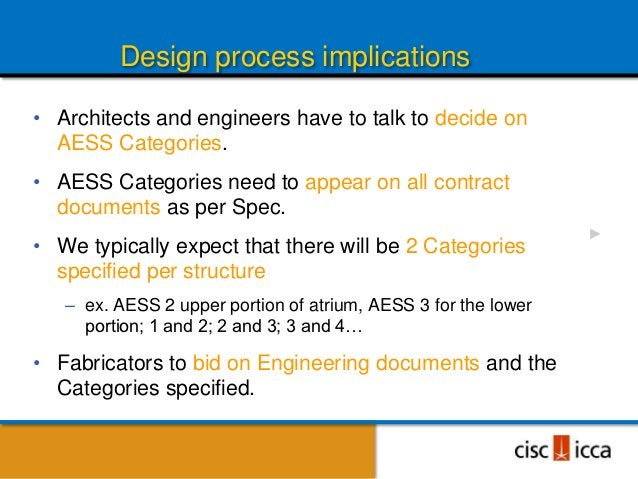 New AESS Documents• Available for purchase and download:  – CISC Guide for Specifying Architecturally Exposed    Structura...