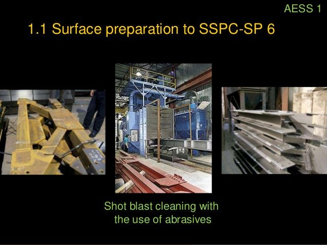AESS 1          1.2 Sharp edges ground smoothphoto: AISC AESS Guide