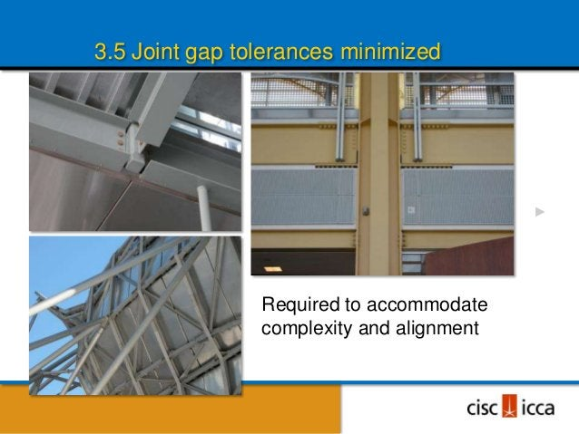 AESS 33.5 Joint gap tolerances minimised                             Regan International Airport,                         ...
