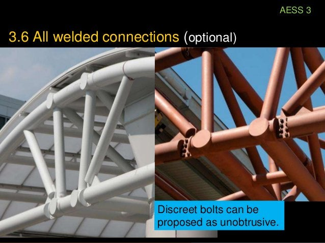 Unobtrusive connections                   Even where design                   governs, there are                   alterna...
