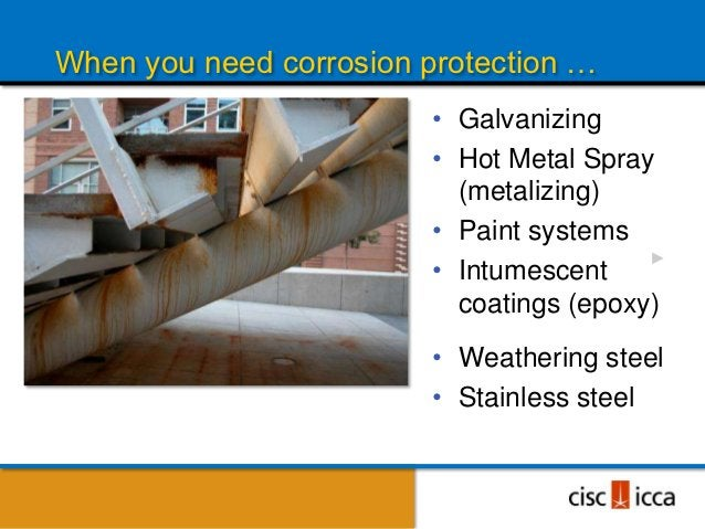 """THE ENGINEER AND FABRICATOR SAY ABOUTGALVANIZED STEEL:It was NEVER meant to be a """"FINISH""""!It is a corrosion protection sys..."""