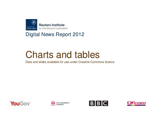 Digital News Report 2012Charts and tablesDate and slides available for use under Creative Commons licence