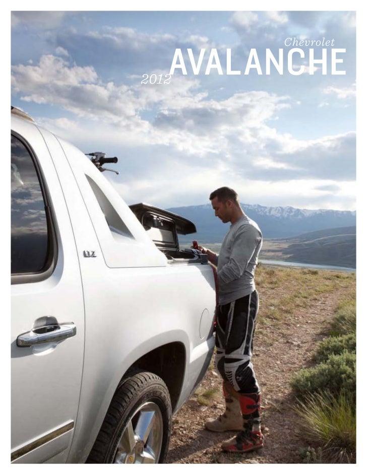 Chevrolet   AVALANCHE2012