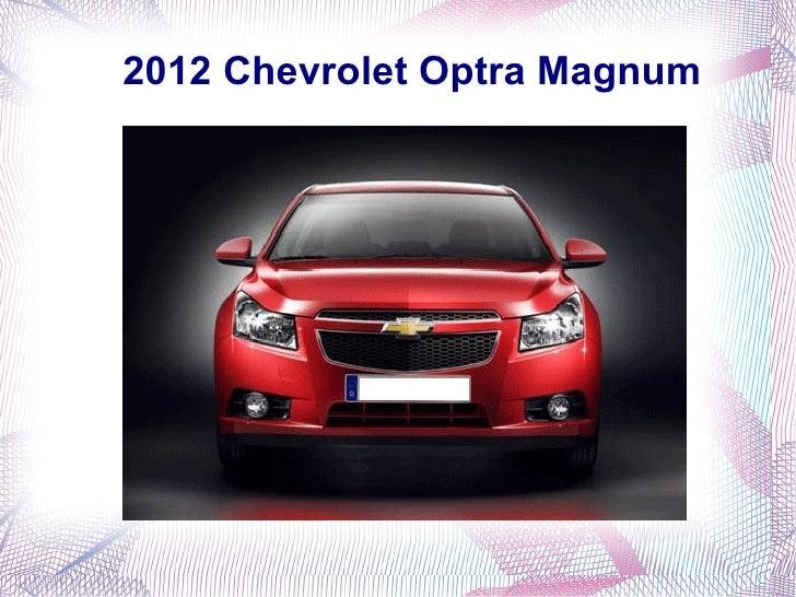 2012 Chevrolet Optra Magnum