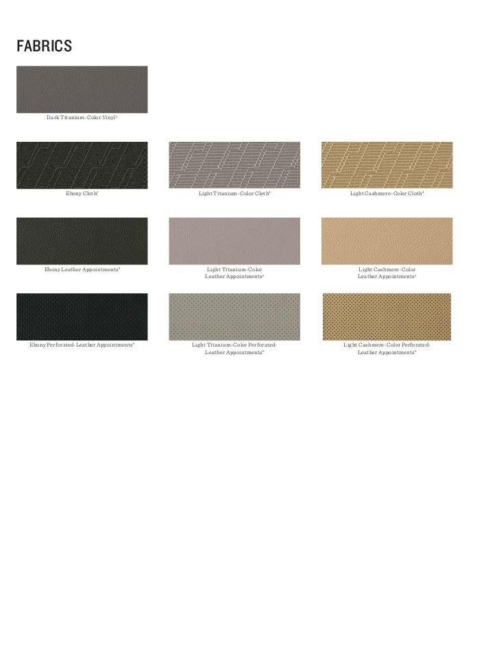 fAbRIcS       Dark Titanium-Color Vinyl 2              Ebony Cloth 3                  Light Titanium-Color Cloth4        L...