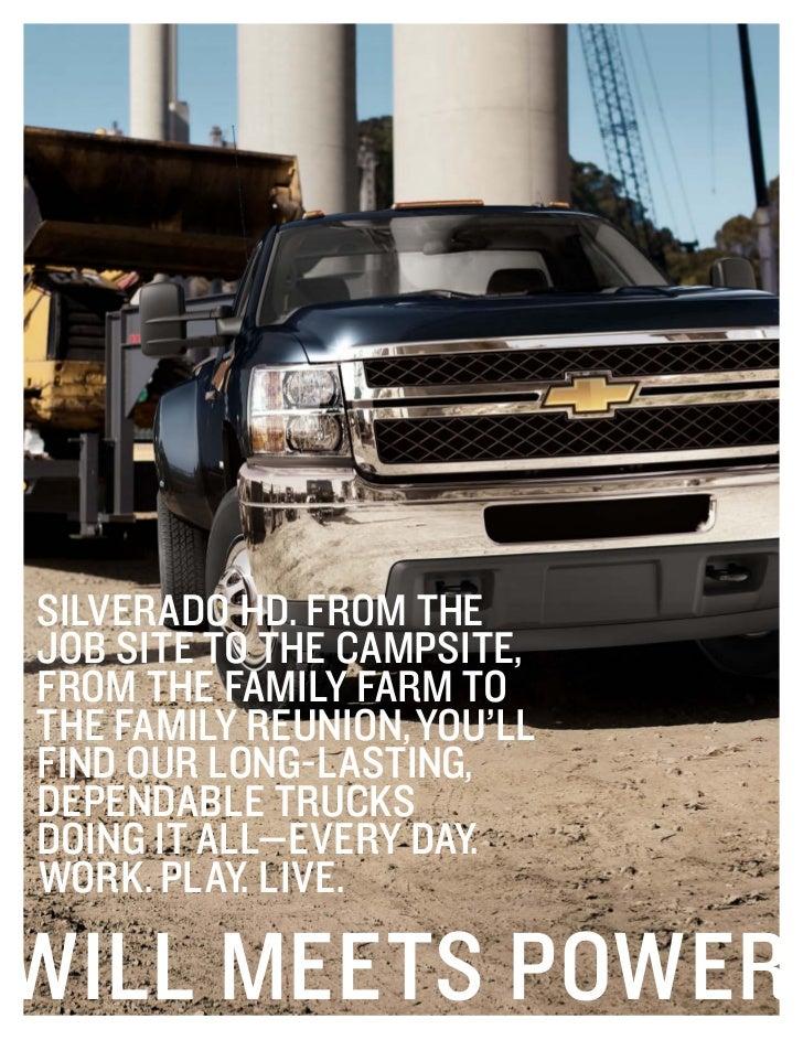 2012 Chevrolet Silverado HD For Sale MI | Chevrolet Dealer Upper Michigan Slide 2
