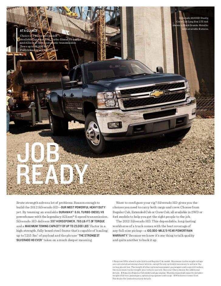 2012 Chevrolet Silverado HD For Sale MI | Chevrolet Dealer Upper Michigan Slide 3