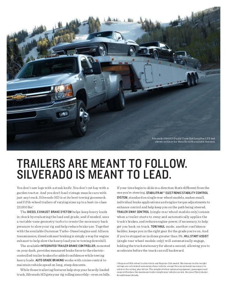 Silverado 3500HD Dually Crew Cab Long Box LTZ 4x4                                                                         ...