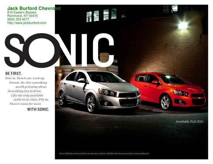 2012 Chevrolet Sonic For Sale KY | Chevrolet Dealer near ...