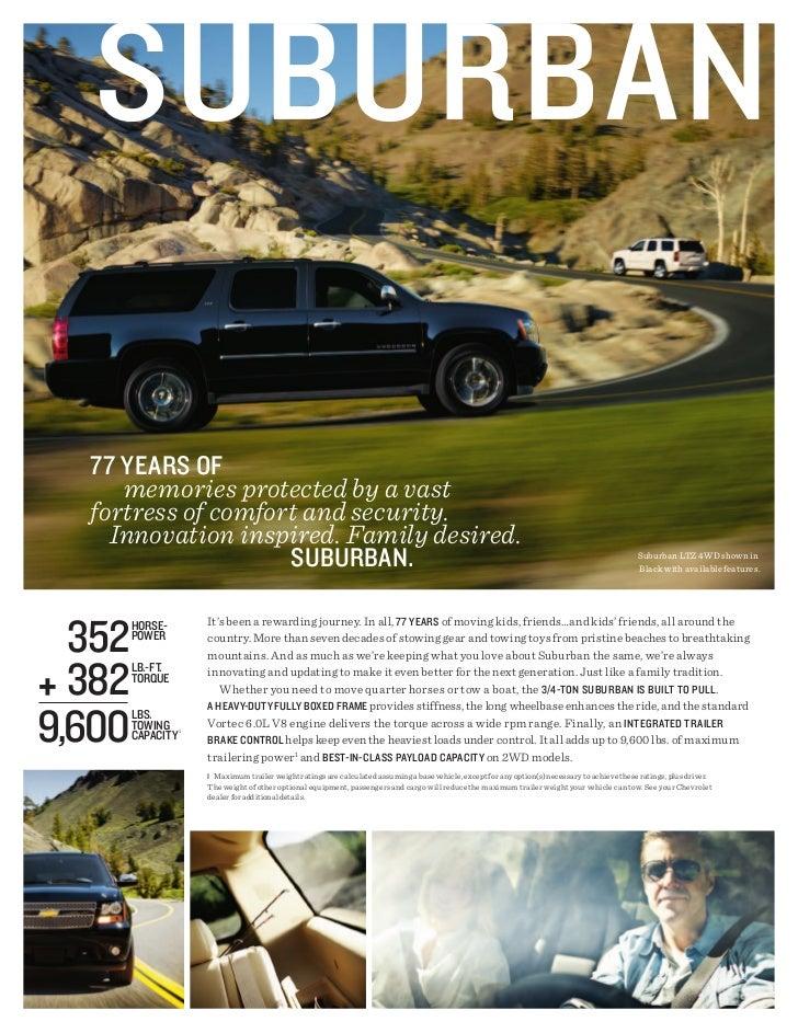 2012 Chevrolet Suburban For Sale MI   Chevrolet Dealer Upper Michigan Slide 2