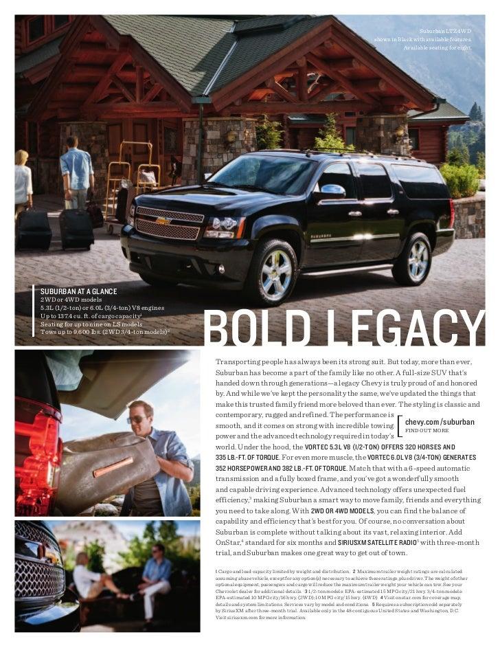 2012 Chevrolet Suburban For Sale MI   Chevrolet Dealer Upper Michigan Slide 3