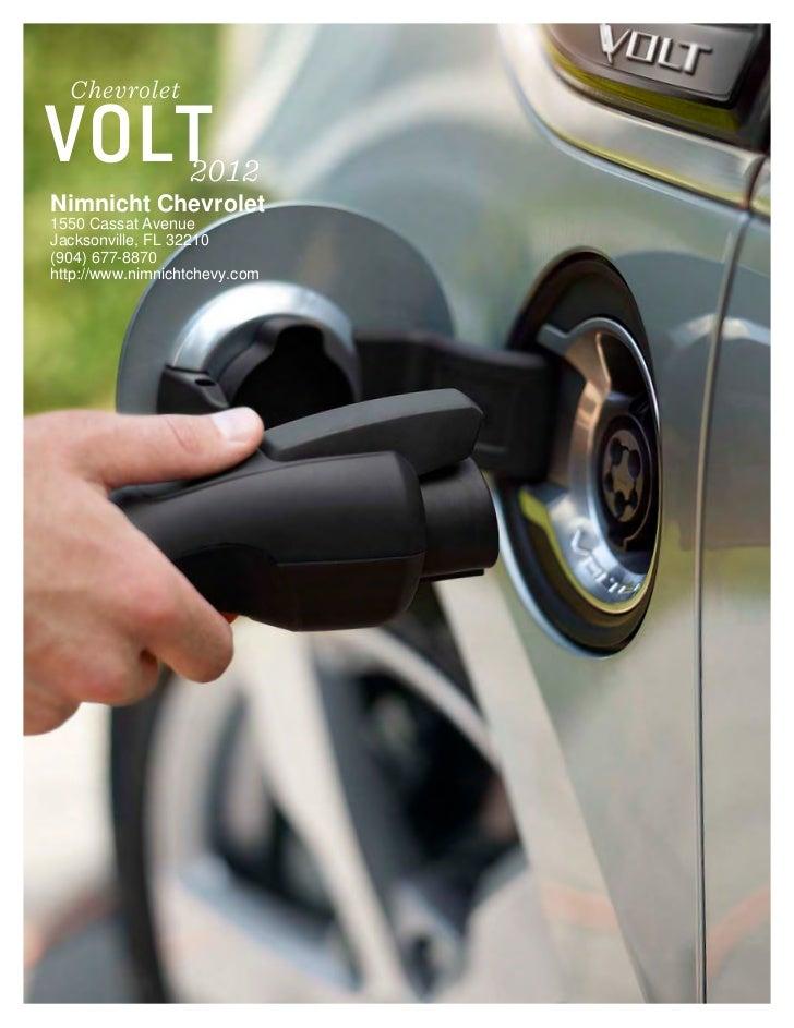 2012 Chevrolet Volt For Sale Fl Chevrolet Dealer In