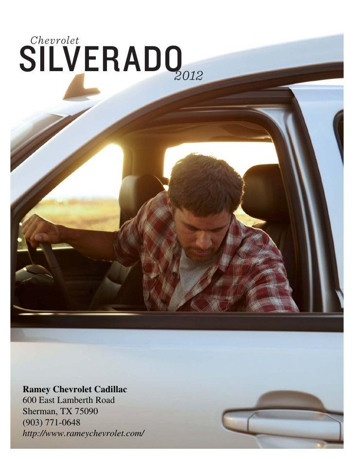 2012 Chevy Silverado 1500 For Sale In Sherman Tx Sherman