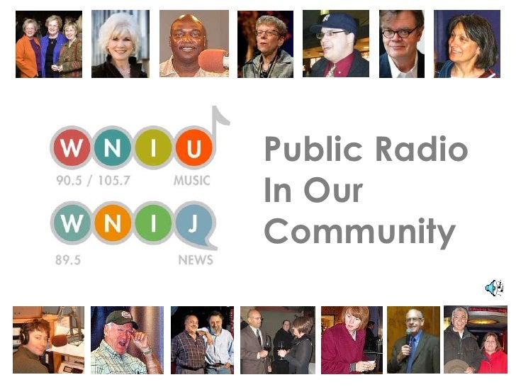Public RadioIn OurCommunity