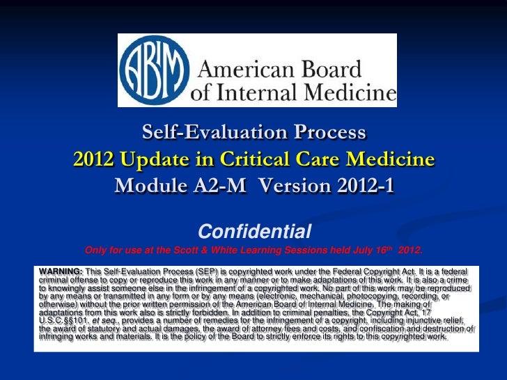 2012 critical care updates participation slides