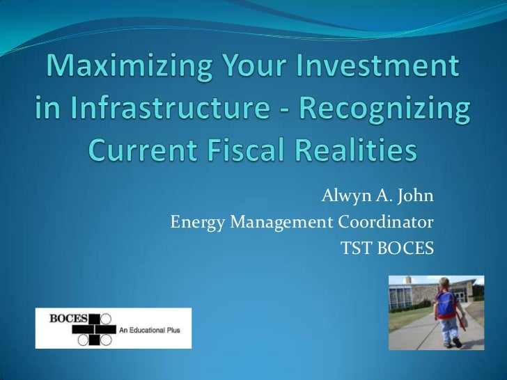 Alwyn A. JohnEnergy Management Coordinator                  TST BOCES