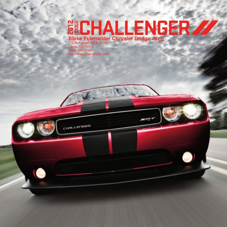 2012 dodge challenger for sale tx dodge dealer near fort worth. Black Bedroom Furniture Sets. Home Design Ideas