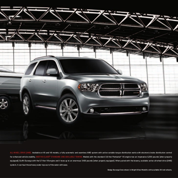 Dodge Dealership: 2012 Dodge Durango For Sale NY