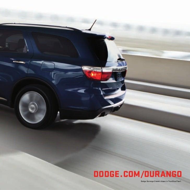 2012 Dodge Durango For Sale NY