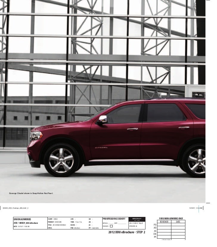 Dodge Dealership: 2012 Dodge Durango For Sale TX
