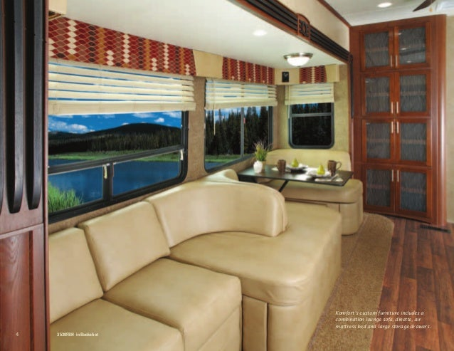 Dutchmen Introducing Komfort Fifth Wheel With Front Lounge