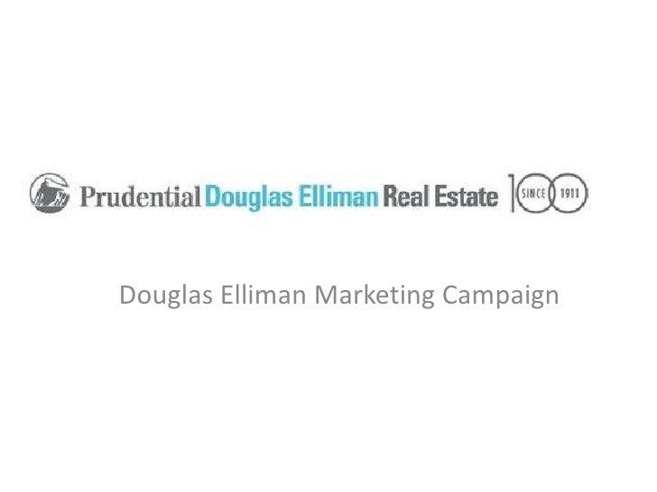 Douglas Elliman Marketing Campaign
