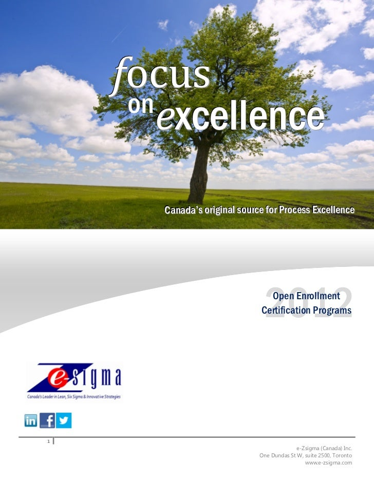focus     on        excellence       Canada''s orriigiinall sourrce fforr Prrocess Excellllence       Canada s o g na sou ...
