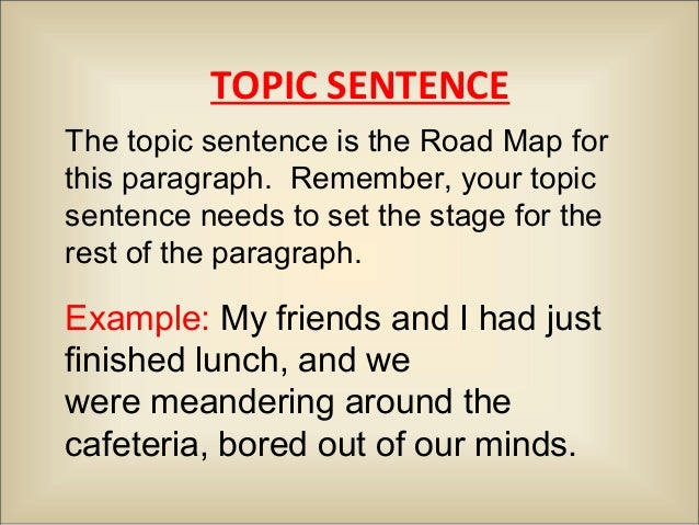 narrative essay structure