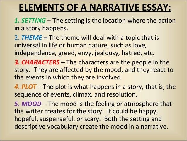 Themed Narrative Essays - image 11