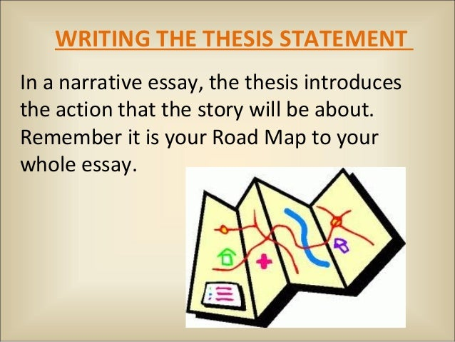 fictional narrative  writing the thesis statementin a narrative essay