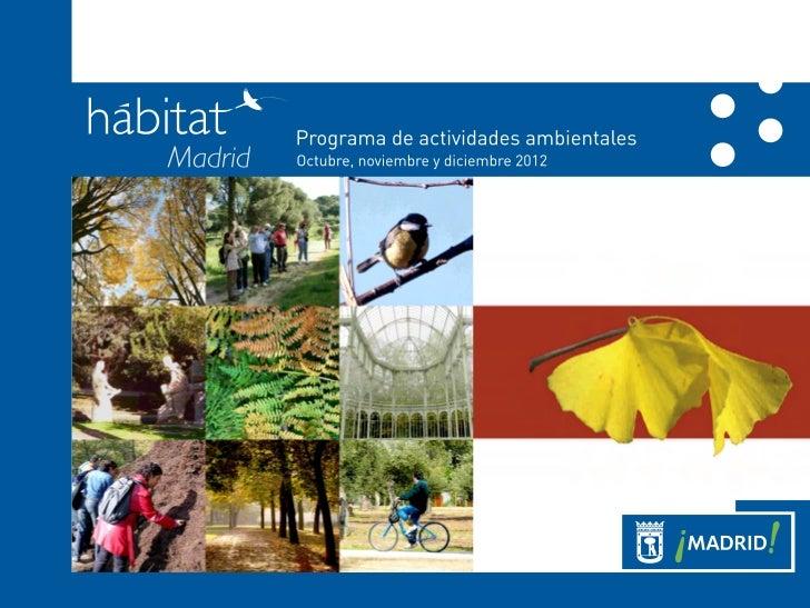 2012 folletootoñohábitatmadrid