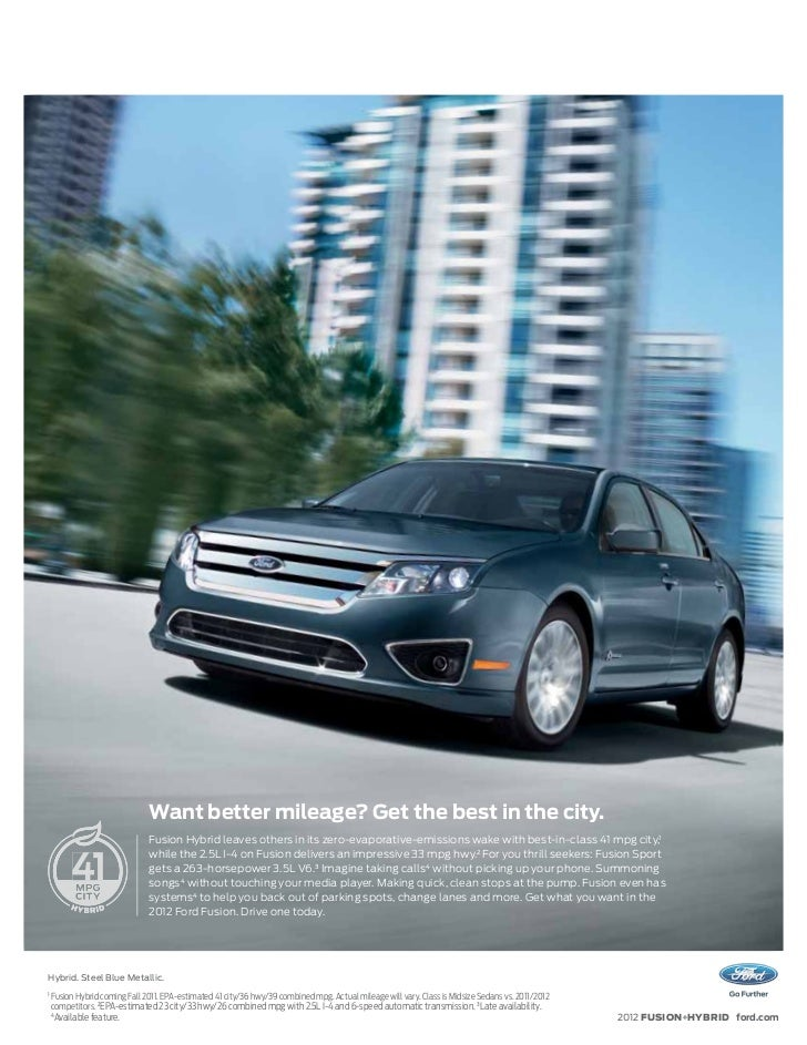 2012 ford fusion brochure mason city ford waverly ford and clear. Black Bedroom Furniture Sets. Home Design Ideas