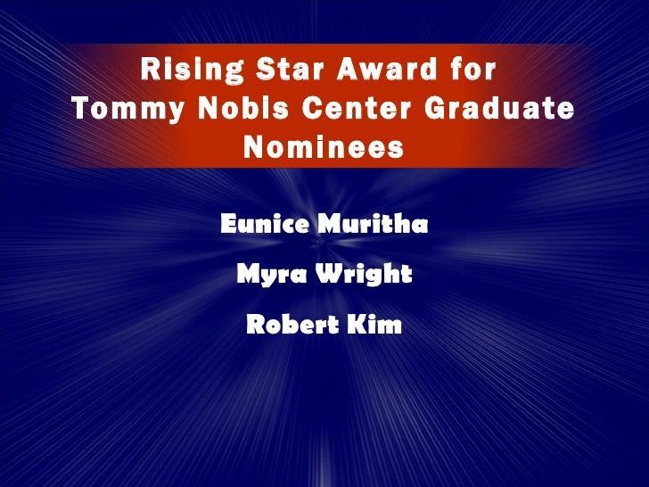 2012 Galaxy Of Stars Amp Tommy Awards Presentation